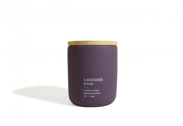 Lavender (Lid) scented candle